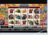 spelmaskiner gratis Captain America CryptoLogic